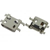 Гнездо micro USB-B 5pin MC-008 (28) монтажное
