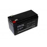 Аккумулятор свинцовый Delta DT12012 (12В; 1,2Ач)