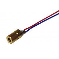 Лазерный светодиод красный 5В (650нм, 5мВт)
