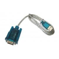 Шнур штекер USB-A (V2,0) - штекер DB 9 (USB to RS232, 1,0м)