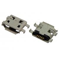 Гнездо micro USB-B 5pin MC-009 монтажное