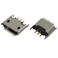 Гнездо micro USB-AB 5pin MC-018 (14) монтажное