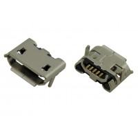 Гнездо micro USB-B 5pin MC-006 (15) монтажное