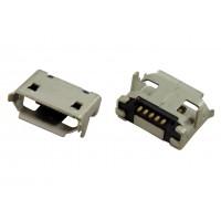Гнездо micro USB-B 5pin MC-004 (24) монтажное