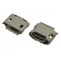 Гнездо micro USB-B 5pin MC-007 монтажное