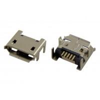 Гнездо micro USB-B 5pin MC-002 (10) монтажное