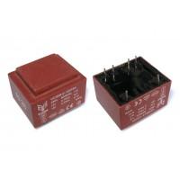 Трансформатор  герметичный EI30-1.5VA (2х12В; 1,5ВА)