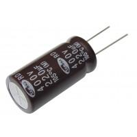Конденсатор электролитический   220 мкФ х 400В (105°C) Samwha