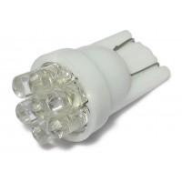 Светодиодная автолампа T10-7LED (белая)