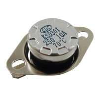 Термостат биметаллический KSD301-070H (10А; 70°C)