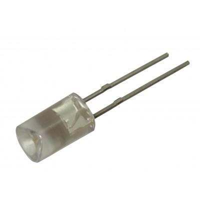 Светодиод ультраяркий  5мм 5HB4SC (синий / обратная линза)
