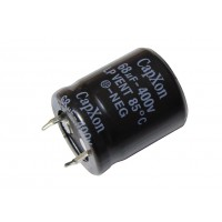 Конденсатор SNAP-IN    68мкФ - 400В (85°C) <22x26> CapXon LP