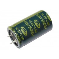 Конденсатор SNAP-IN 10000мкФ -  63В (85°C) <30x50> Samwha HC
