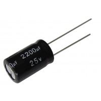 Конденсатор электролитический  2200 мкФ х 25В (105°C) Aiwa