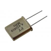 Кварцевый резонатор  4,433619MHz (HC-49U)