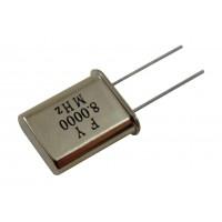 Кварцевый резонатор  8,0000MHz (HC-49U)