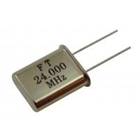 Кварцевый резонатор 24,0000MHz (HC-49U)