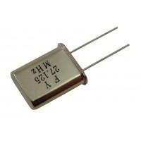 Кварцевый резонатор 27,1250MHz (HC-49U)