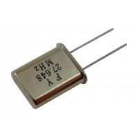 Кварцевый резонатор 27,6480MHz (HC-49U)