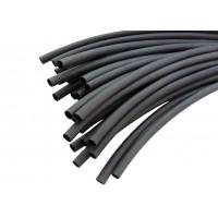 Термоусадочная трубка с клеем ТУТнг  8,0/2,0мм (черная) Китай