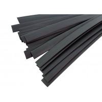 Термоусадочная трубка с клеем ТУТнг 12/3,0мм (черная) Китай