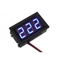 Цифровой вольтметр переменного напряжения AC-0,56 (синий)