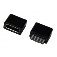 Гнездо micro USB-B 5pin кабельное