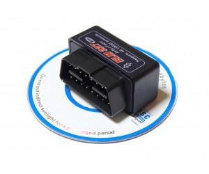 Адаптер диагностики автомобиля ELM327 Bluetooth (v2.1) OBDII