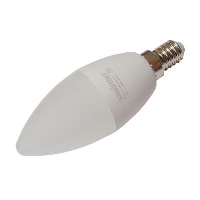 Светодиодная лампа E14 SBL-C37-9_5-60K-E14 (белый 6000К; 9,5Вт)