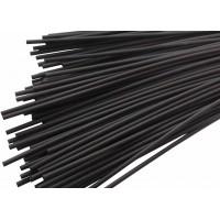 Термоусадочная трубка ТУТнг   3,5/1,75мм (черная) REXANT