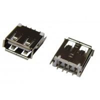 Гнездо USB-A монтажное (тип 2, горизонтальное)