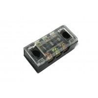 Блок зажимов 15A 3 пары (с прозрачной крышкой)
