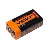 Батарейка VIDEX 6F22 (9V, крона)