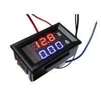 Цифровой AVometer (0 - 99,9В; до 10А)