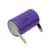 Аккумулятор монтажный 1,2В, 2200мАч SC2200 (4/5SC) (под шуруповерт)