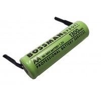 Аккумулятор монтажный 1,2В, 1800мАч (AA) Bossman-Profi с выводами