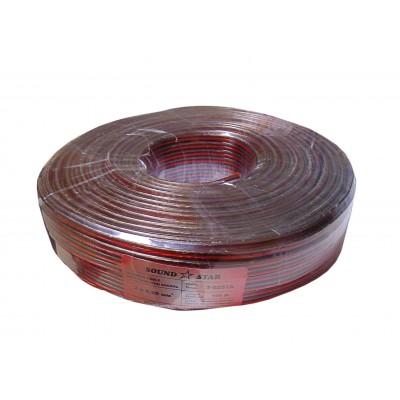 Кабель акустический 2х1,0 мм кв. (медь)