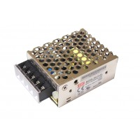 Источник питания 220VAC - 24VDC  0,625А RS-15-24 (MEAN WELL)