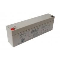 Аккумулятор свинцовый Контакт КТ 12-2,2 (12В; 2,2Ач)