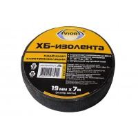 Изолента ХБ 0,13х19мм 7м (черная) AVIORA
