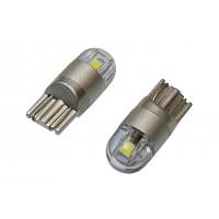 Светодиодная автолампа T10-SMD3030 LED (2шт, белая)