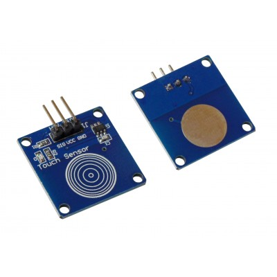 Кнопка TTP223 синяя (сенсорная)