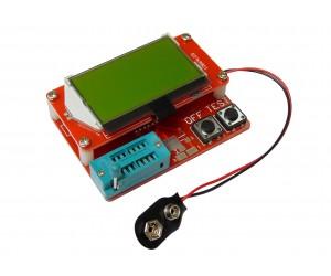 Прибор для измерения ESR, LCR и транзисторов (v2.1)