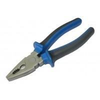 Плоскогубцы CY-1038 (ручки черно-синие)