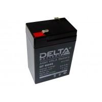 Аккумулятор свинцовый Delta DT6045 (6В; 4,5Ач)
