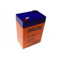 Аккумулятор свинцовый Delta DTM6045 (6В; 4,5Ач)