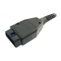 Разъем штекер OBD-II (16 pin)