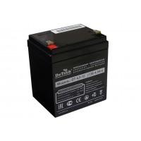 Аккумулятор свинцовый DeTech DT4,5-12 (12В; 4,5Ач)