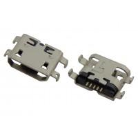 Гнездо micro USB 5pin (4 контакта)