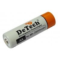 Аккумулятор DeTech DT AA (2600мАч)